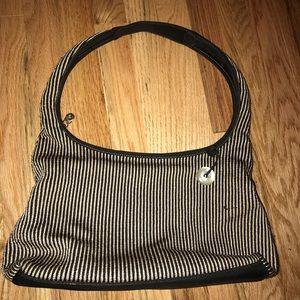 The SAK Black/Tan Handbag